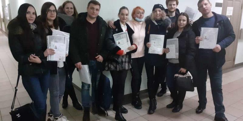 выпускники нашей автошколы